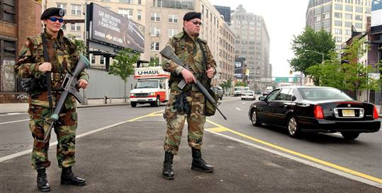 troops in the streets Media Dismisses Warning About Tyranny and Troops on the Street as Kooky Conspiracy Theory