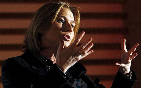 Israeli PM Tipi Livni, who is trying to out-butch rival Benjamin Netanyahu.  Good for her.