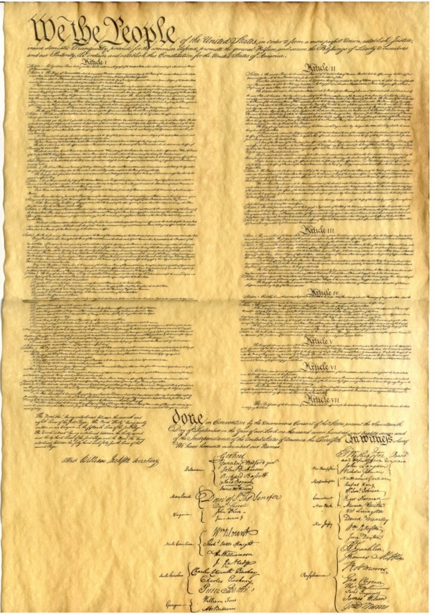 a paper on the united states constitution as a living document The constitution of the united states of america we the people of the united states, in order to form a more perfect union, establish justice, insure.