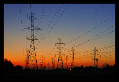 power-electric-towers
