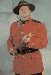 angry mountie