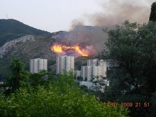 Fire in MArseilles