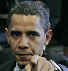 obama angry finger