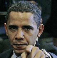 obama angry finger