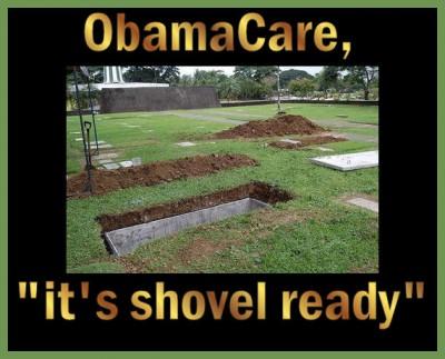 obamacare shovel ready