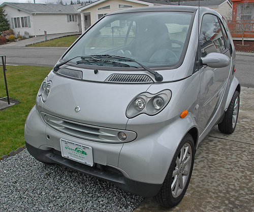 teenhy tiny smart car