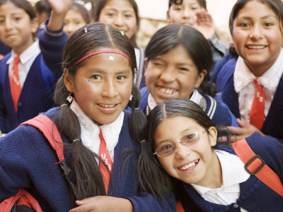 brent-winebrenner-school-kids-on-field-trip-to-museums-on-calle-jaen-la-paz-bolivia