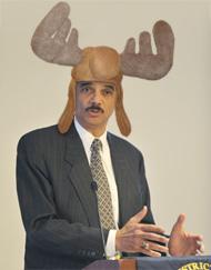 eric holder moose hat