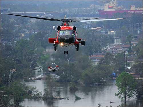 katrina helicopter evacuation