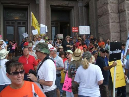 SATP Courthouse Rally