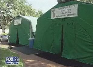 flu tents 2