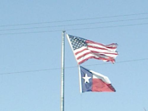 Texas US Flags