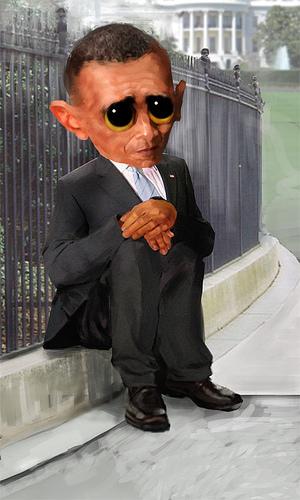 whiny obama big eyes