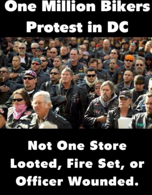 biker protest